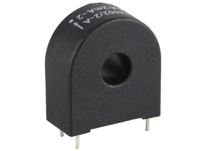 φ6.5mm PCB mounting current transformer 70A, 2500:1