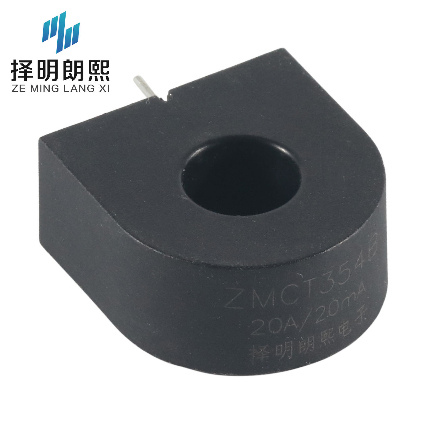 φ9.5mm PCB mounting current transformer 3pins 1000:1